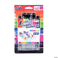 Tulip® 8 Pc. Watercolor Fabric Markers