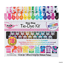 Tulip® One-Step 18-Color Tie-Dye Boredom Buster Kit