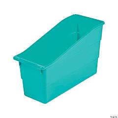 Turquoise Book Bins