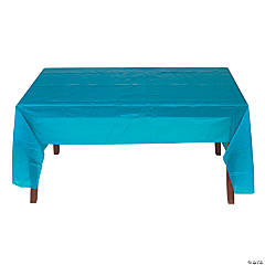 Turquoise Tablecloth