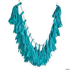 Turquoise Tassel Garland