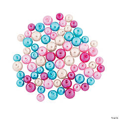 Turquoise Valentine Pearl Assortment - 6mm-8mm