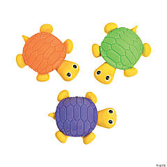Turtle Erasers - 12 Pc.