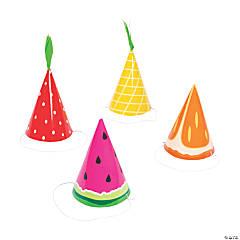 Tutti Frutti Cone Party Hats