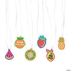 Tutti Frutti Fruit Necklaces