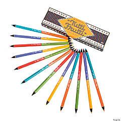 Tutti Frutti Louise Fili Dual-Ended Pencils