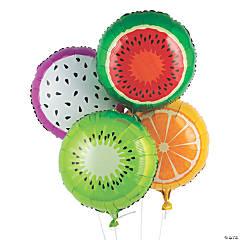 Tutti Frutti Mylar Balloons