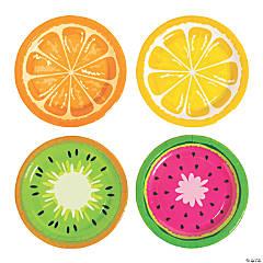 Tutti Frutti Paper Dessert Plates - 8 Ct.