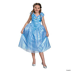 Tween Girl's Cinderella Costume - Medium