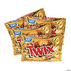 TWIX Caramel Fun-Size Candy, 10.83 oz, 4 Pack