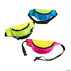 Two-Tone Fanny Packs