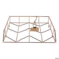 U Brands Wire Letter Tray - Copper, Single Tray