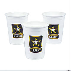 U.S. Army® Disposable Cups