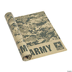 U.S. Army® Camouflage Tablecloth Roll