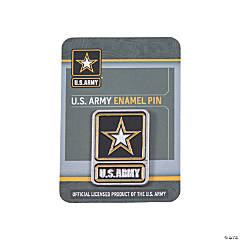 U.S. Army® Enamel Pins with Card