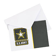 U.S. Army® Note Cards with Envelopes