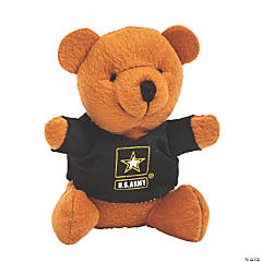 U.S. Army® Stuffed Bears with T-Shirts