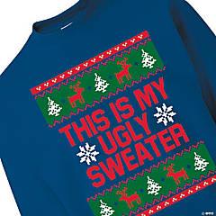 Ugly Sweater Adult's Sweatshirt - Large