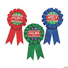 Ugly Sweater Award Ribbons