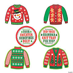 Ugly Sweater Cutouts