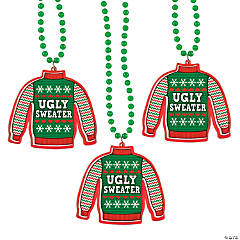 Ugly Sweater Necklaces