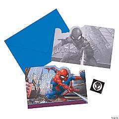 Ultimate Spider-Man™ Invitations - 8 Pc.
