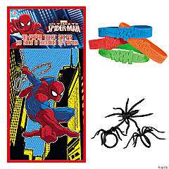 Ultimate Spider-Man™ Valentine Treat Bags with Superhero Sayings Bracelets & Spider Rings