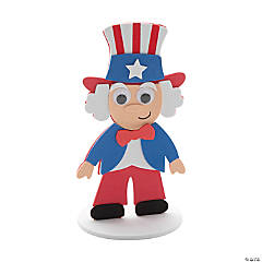 Uncle Sam Stand-Up Craft Kit