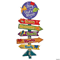 Under the Sea Directional Sign