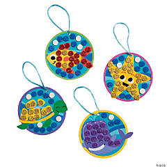 Under the Sea Glitter Mosaic Craft Kit
