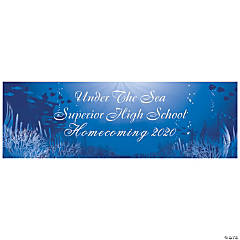 Under the Sea Grand Events Custom Banner - Large