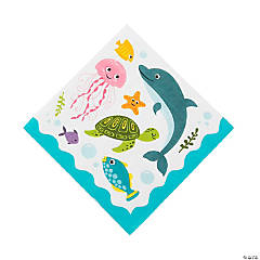 Under the Sea Luncheon Napkins