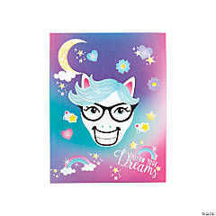 Unicorn Face Sticker Scenes