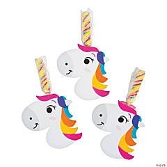 Unicorn Horn Twisty Lollipops