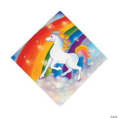 Unicorn Luncheon Napkins
