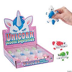 Unicorn Mochi Squishies