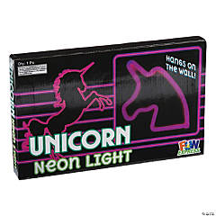 Unicorn Neon Pink Wall Light