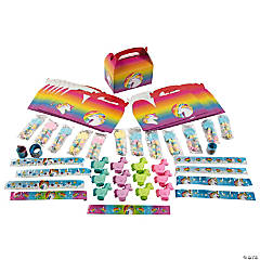 Unicorn Party Favor Kits for 12