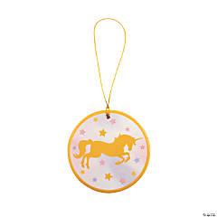 Unicorn Sparkle Ceramic Ornaments