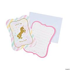 Unicorn Sparkle Invitations
