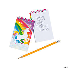 Unicorn Spiral Notepads