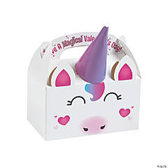 Unicorn Valentine Treat Boxes