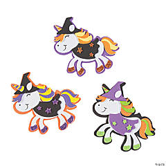 Unicorn Witch Magnet Craft Kit