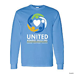 United Against Bullying Adult's T-Shirt