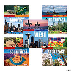 United States by Region Book Set, Set of 5