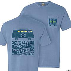 UNL Phi Delta Theta Freshman Ski Trip Pocket T-Shirt - Small