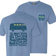 UNL Phi Delta Theta Junior Ski Trip Pocket T-Shirt - Medium