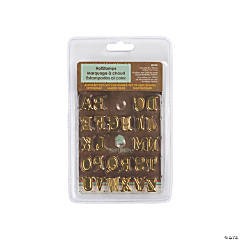 Uppercase Alphabet Hot Stamps Set