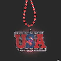 USA Light-Up Necklaces