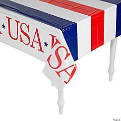 USA Plastic Tablecloth